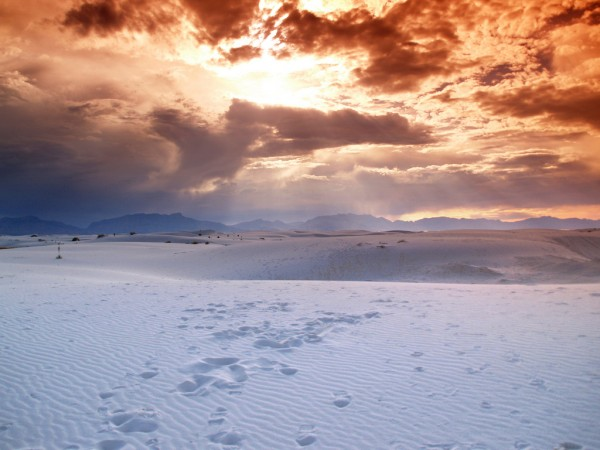 Jöshua Barnett, White Sands, New Mexico
