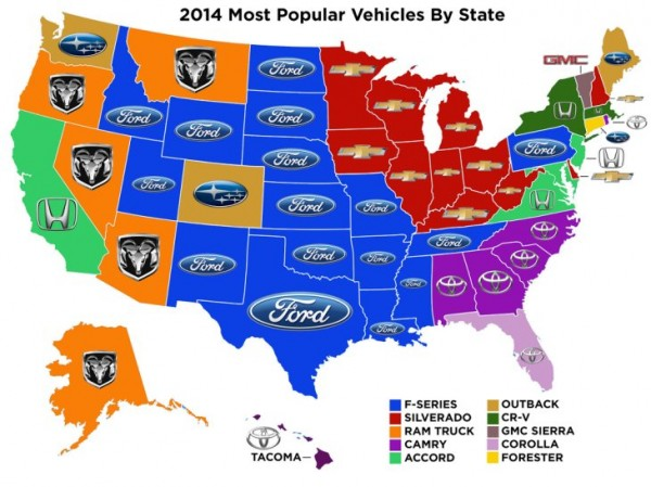Q What Is The Most Popular Vehicle In New Mexico A