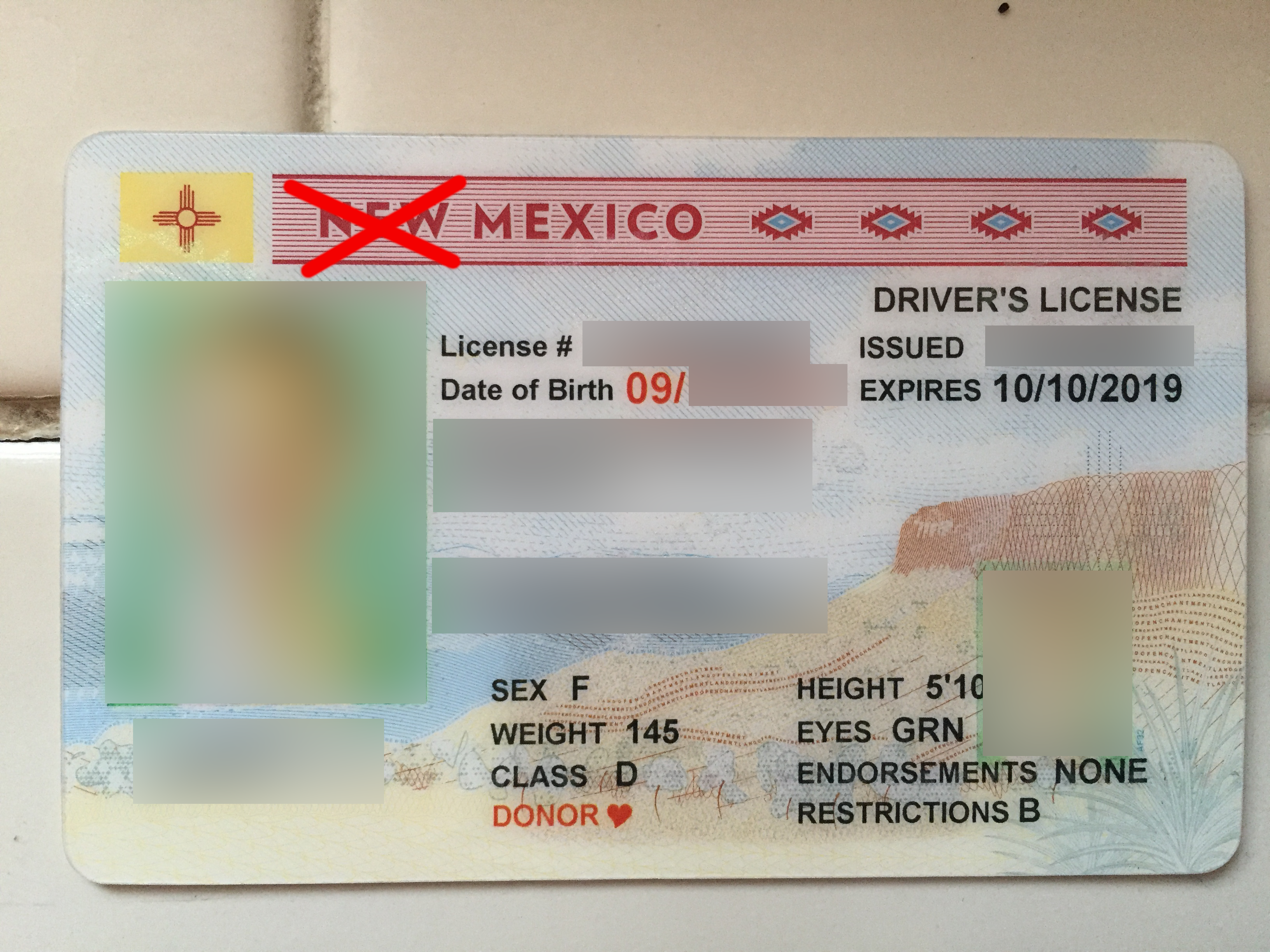 us drivers license in mexico