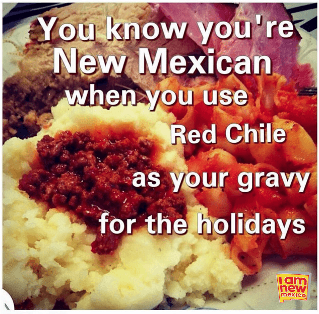 red chile gravy