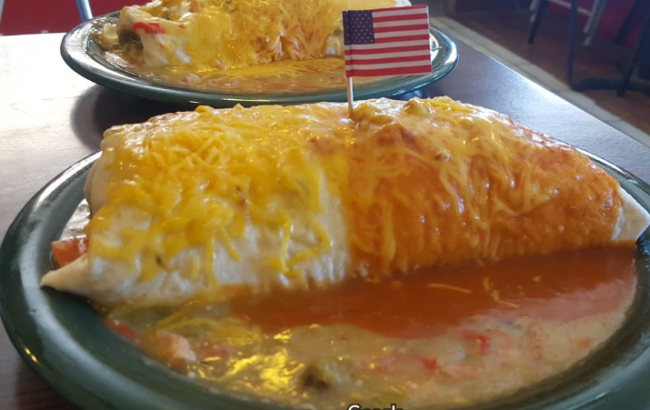 Fina's Breakfast Burritos. Photo: Brandon Gonzales New Mexico Dives