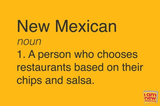 Chips and Salsa Meme, New Mexico