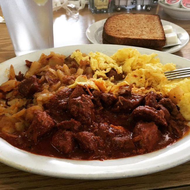 Carne Adovada from The Flying Tortilla in Santa Fe, New Mexico / Photo by ig:yestfl