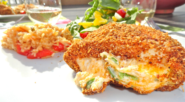 Hatch Green Chile and Cheese Stuffed Chicken Breast Recipe ...