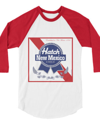 Hatch New Mexico Chile 3/4 Sleeve Unisex T-Shirt