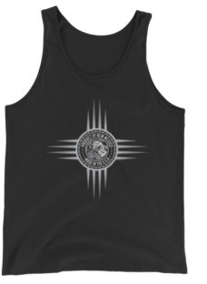 Unisex Product of New Mexico Zia Symbol Tank Top