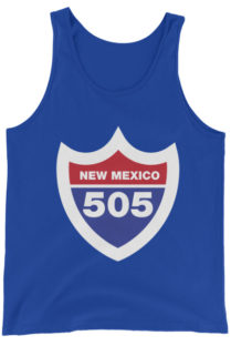 Unisex New Mexico Interstate 505 Tank Top