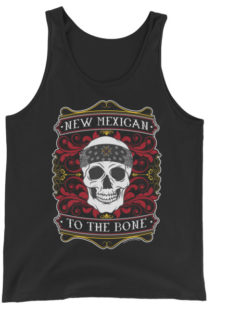 Unisex New Mexican to the Bone Tank Top