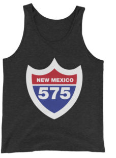 Unisex New Mexico Interstate 575 Tank Top