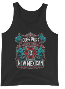 Unisex 100% Pure New Mexican 505 Edition Tank Top