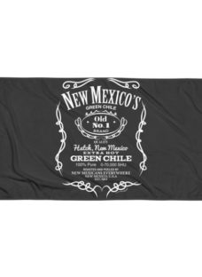 New Mexico's Old No.1 Hatch Green Chile Beach Blanket