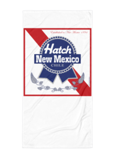 Hatch New Mexico Blue Ribbon Chile Beach Blanket