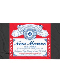 New Mexico King of Chile Beach Blanket