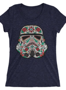 Women's New Mexico Sugar Skull Trooper Tee