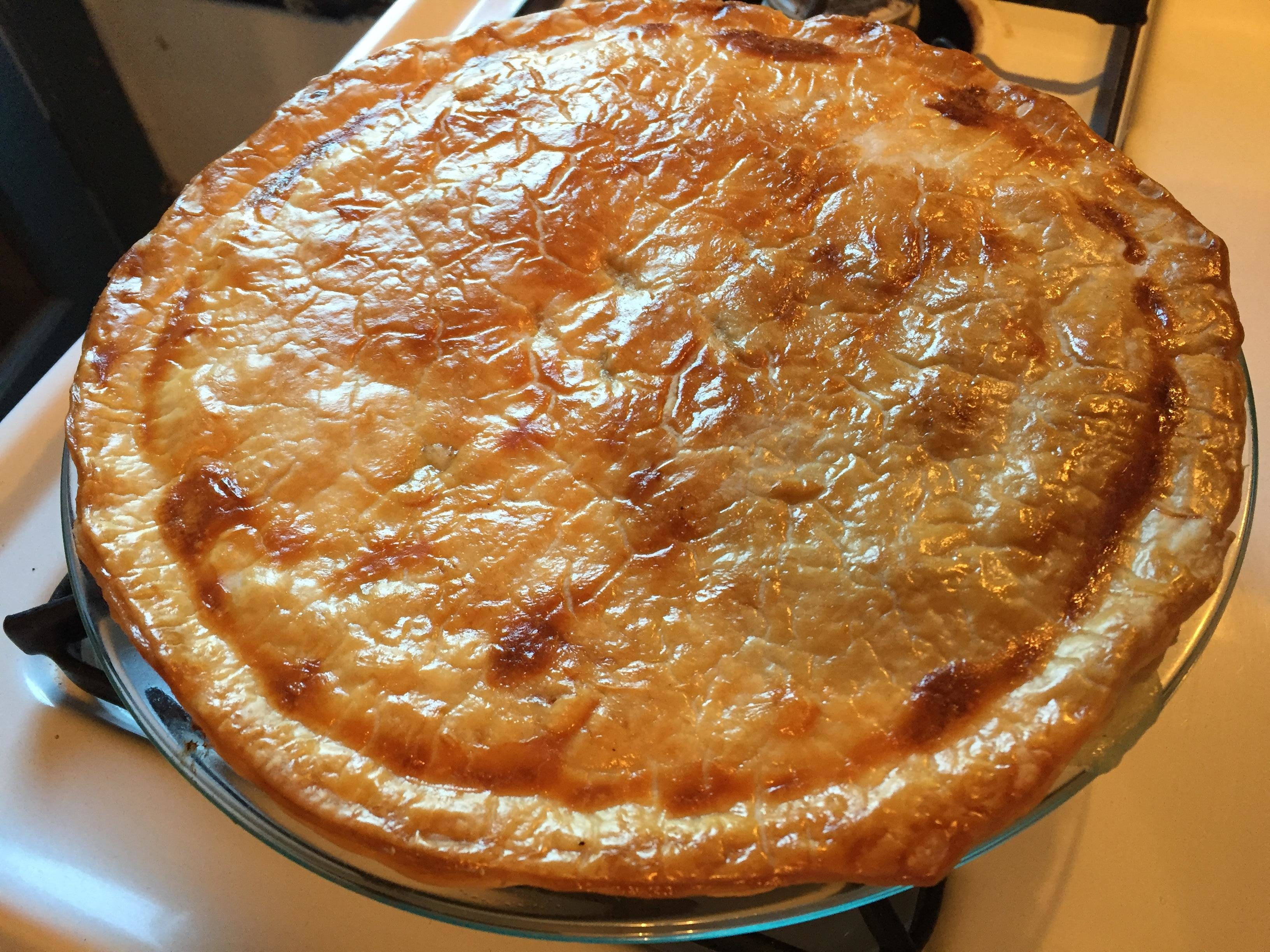 New Mexico Hatch Green Chile Chicken Pot Pie | I am New Mexico
