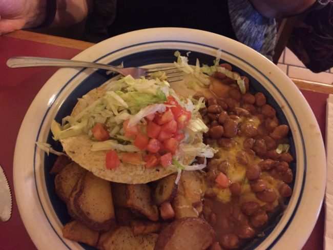 New Mexican Food in Old Town Albuquerque, New Mexico / Photo by I am New Mexico ©2018